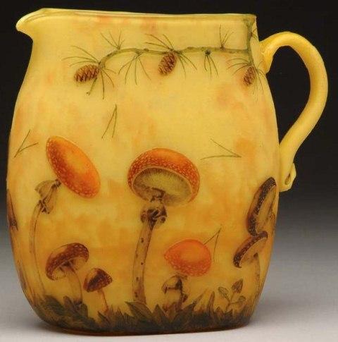 Daum Nancy Mushrooms Vase Value And Appraisal 187 Daum